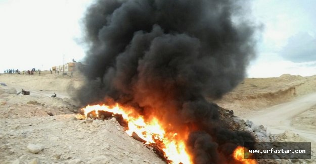 Haliliye'de korkutan görüntü