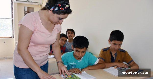 Hilvan'da yaz okuluna yoğun ilgi