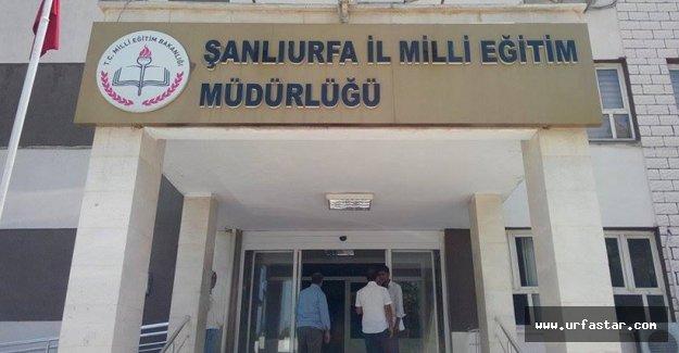 Operasyon Urfa milli eğitimine sıçradı..