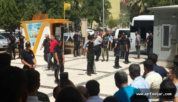 Urfa'da 55 Hakim ve savcı hakim mahkemede