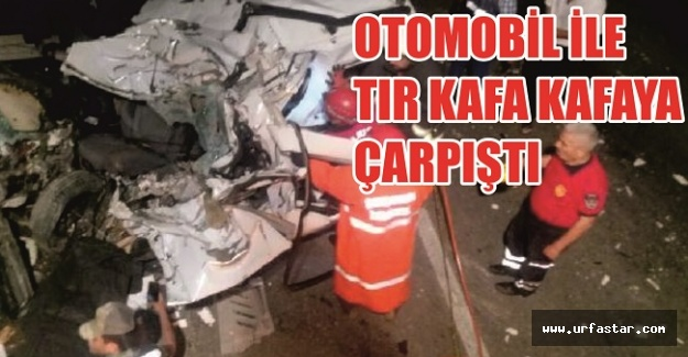 Urfa'da düğün dönüşü kaza:7 ölü