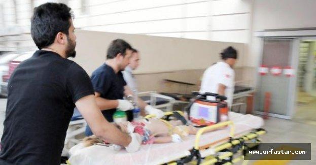 Urfa'da 2 çocuk ağır yaralandı