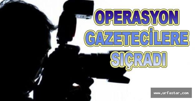 Urfa'da 2 gazeteci gözaltına alındı