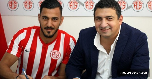 Urfalı futbolcu Antalyaspor'da