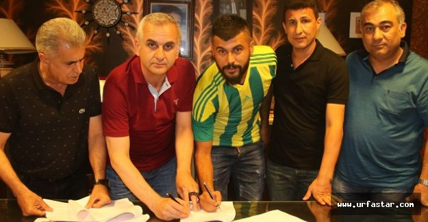 Urfaspor'dan bir transfer daha...