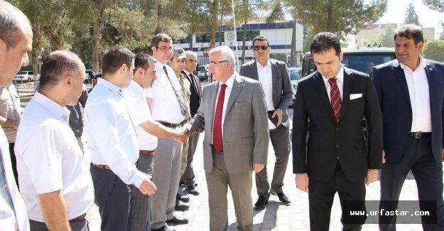 Vali Tuna Akçakale ve Harran'ı ziyaret etti