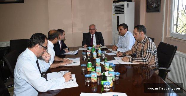 Vali Tuna, OSB yönetimiyle toplantı yaptı