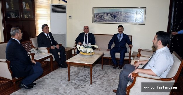 Vali Tuna'dan Rektör Taşaltın'a ziyaret