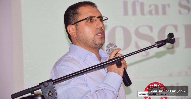 Balay Viranşehir'de konuştu