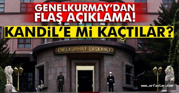 Darbeci general ve askerler Kandil'e mi kaçtı?