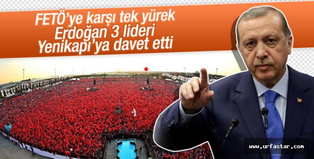 Erdoğan, kimleri oraya davet etti