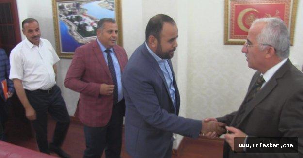 GÖÇ Komisyonu Vali Tuna'yı ziyaret ettiler