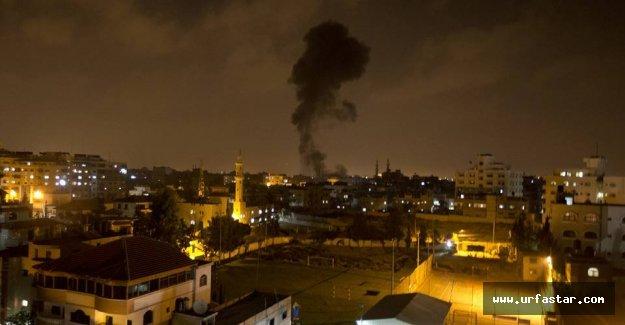 İsrail yine Gazze'ye vuruyor
