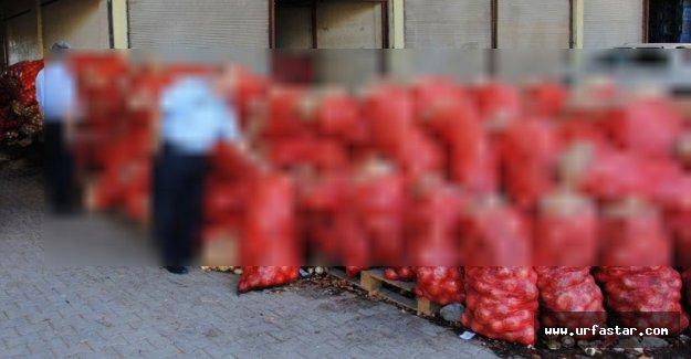 Urfa'da tam 28 ton ele geçirildi..