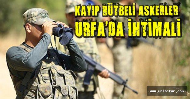Aranan rütbeli cuntacılar Urfa'da mı?
