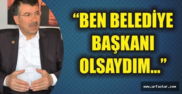 Cevheri'den belediye başkanlarına mesaj…
