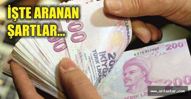 Devlet her ay 823 Lira ödeyecek