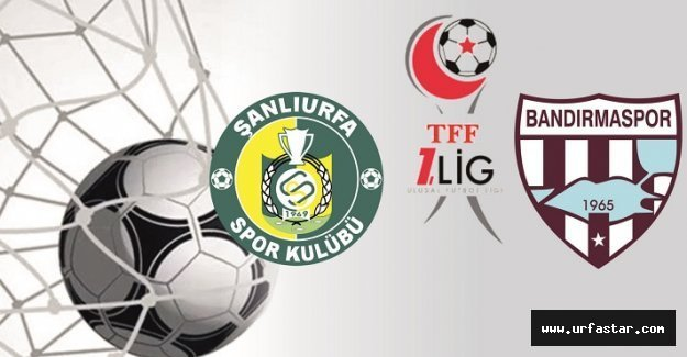 Urfaspor 3 puanı tek golle aldı
