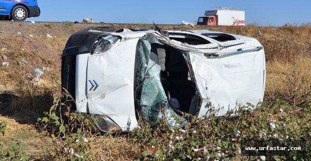 Siverek'te trafik kazası...