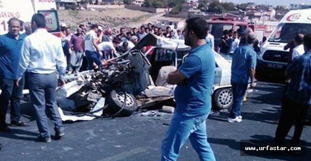 Urfa'da feci kaza: Ölü ve yaralılar var!