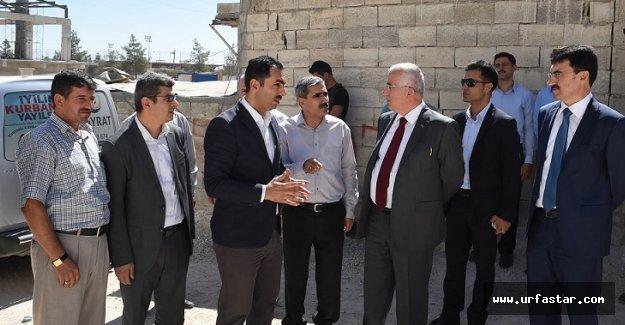 Vali Tuna'dan okul inşaatına destek