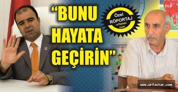 Aktaşoğlu, Başkan Çiftçi'ye seslendi