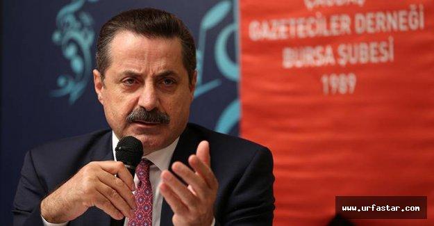 Bakan Çelik Bursa'da sert mesajlar verdi