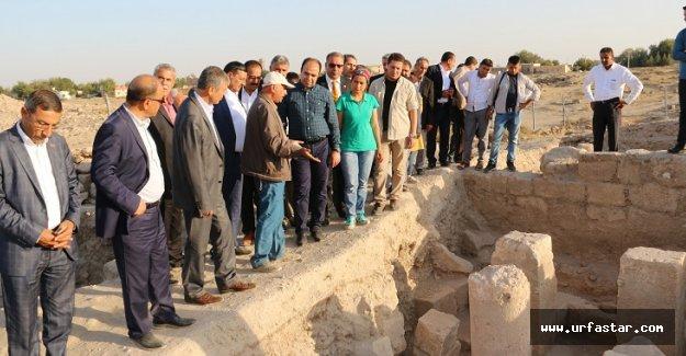 Çiftçi, Harran'da temaslarda bulundu