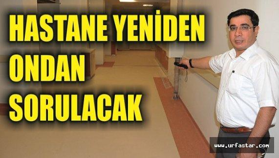 Eyyübiye Hastanesinde görev değişimi...