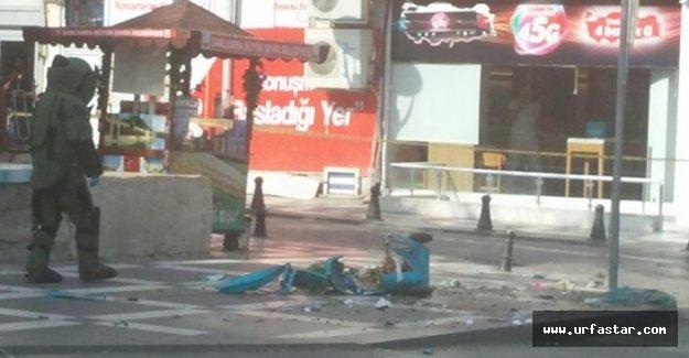 Flaş.. Urfa'da bomba paniği