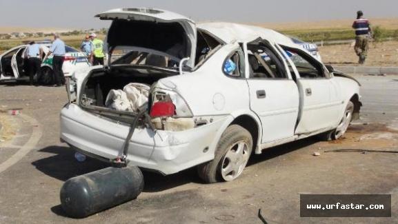 Mardin yolunda feci kaza...