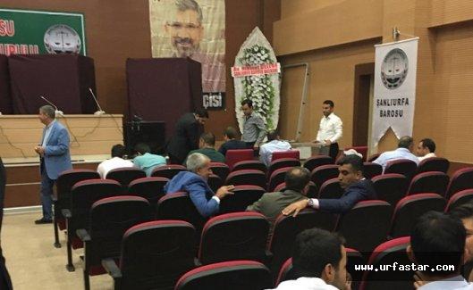 Urfa Barosunda yeni başkan seçiliyor
