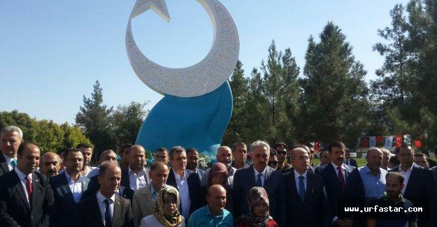 Urfa'da 15 Temmuz anıtı dikildi