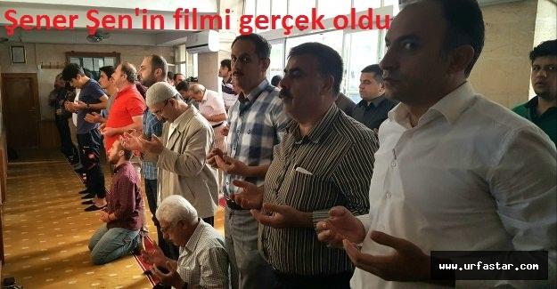 Urfa'da cemaat bakın ne için dua etti?
