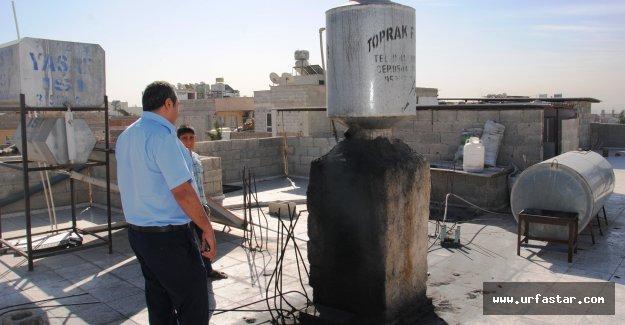 Urfa'da zabıtalar dama çıktı