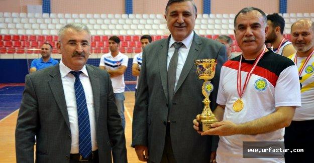 Harran Üniversitesi'ndeki turnuva sona erdi