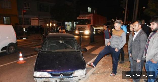 Hilvan'da trafik kazası...