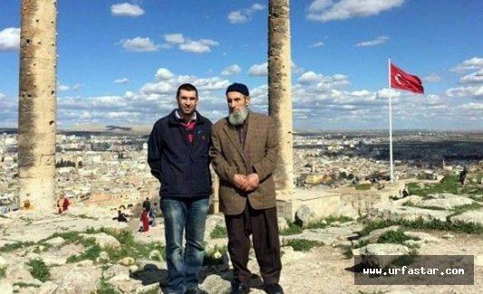 Son fotoğrafı Urfa Kalesi'nde çekmişler..