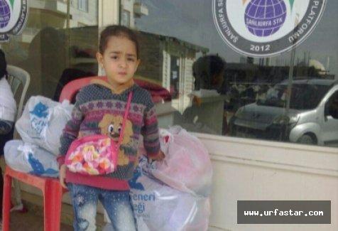 Suriyeli çocuklara el uzattılar