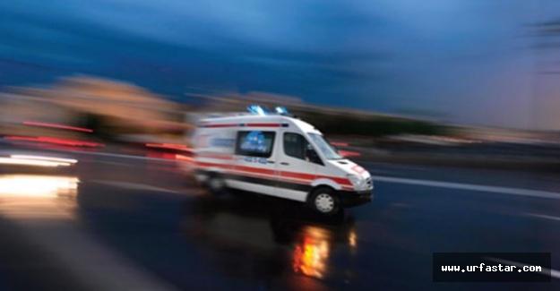 Urfa'da otomobil devrildi