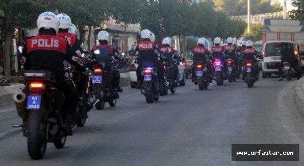 Urfa'da polis harekete geçti