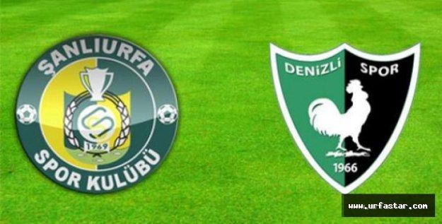 Urfaspor-Denizli maçıyla ilgili flaş gelişme...