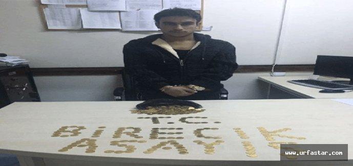 Birecik'te sahte Suriye altını ele geçirildi