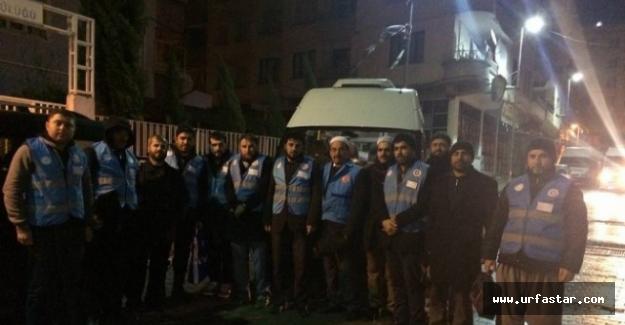 İdlib'e gönderilen 20 kişilik ekip bölgeye ulaştı