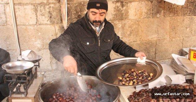 Urfa'da kestane yok satıyor