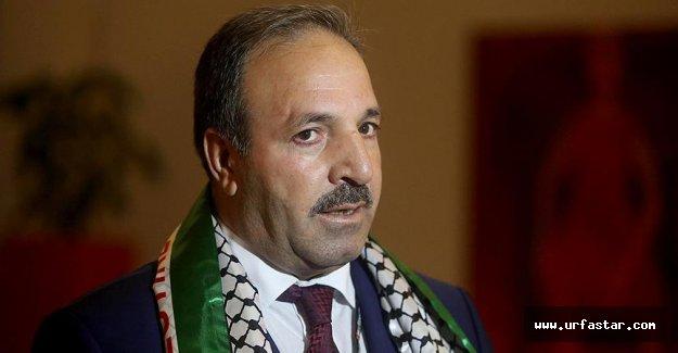 Milletvekili Özcan, Filistin'de konuştu…