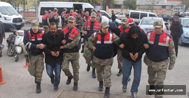 PKK Şüphelileri Adliyede...