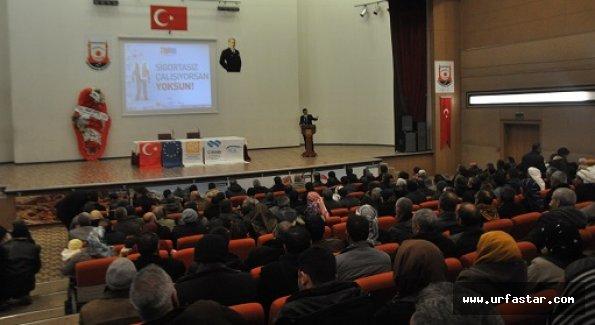 SGK'dan çalışan personele kayıt dışı semineri