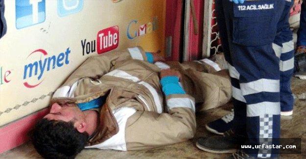Temizlik işçisi sopayla dövüldü
