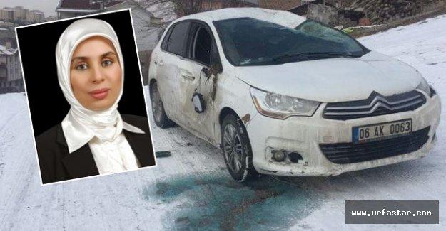 Urfa eski milletvekili kaza geçirdi